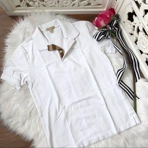 Burberry Brit White Polo Shirt
